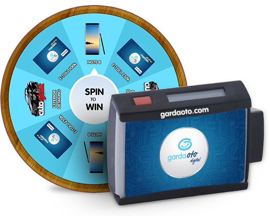 Garda Oto Digital Spin to Win