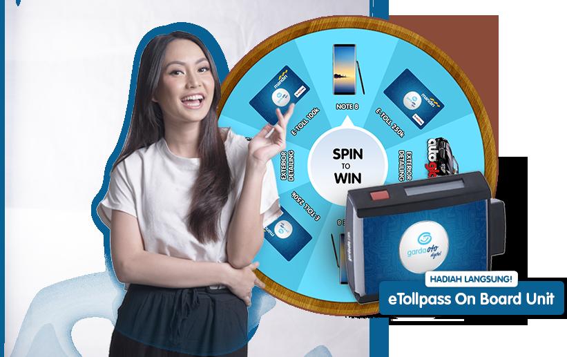 Garda Oto Digital Spin to Win