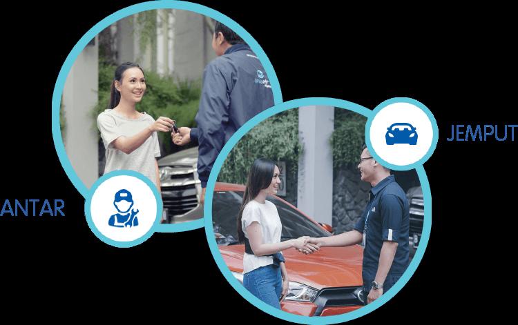 Garda Oto Digital #makingampang antar jemput kendaraan