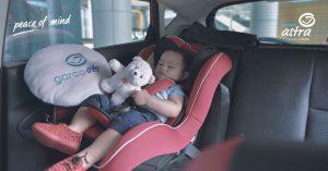 Aman Berkendara Mobil Bersama Si Buah Hati