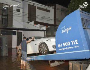 Tetap Tenang Klaim Asuransi Kendaraan Saat Terkena Bencana Alam