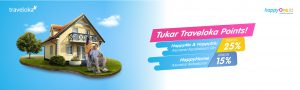 HappyOne - Traveloka Points