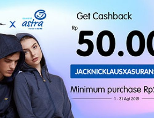 Discount Rp 50.000 di jacknicklaus.co.id