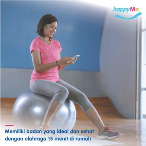 Memiliki badan ideal dan sehat dengan olahraga 15 menit dirumah