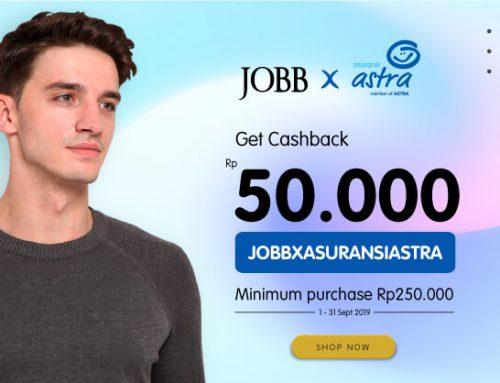Nikmati Discount 50.000 di jobb.co.id