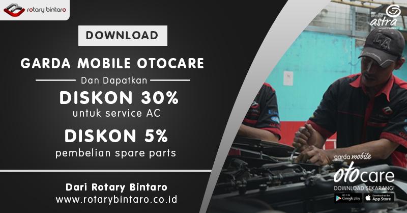 Diskon 30% Service AC di Rotary Bintaro
