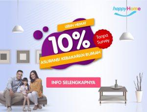 Promo happyHome 10% - Promo Liburan Akhir Tahun