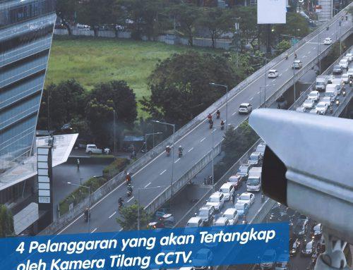 4 Pelanggaran yang akan Tertangkap oleh Kamera Tilang CCTV (e-TLE)