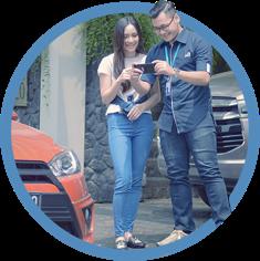 layanan home survey dan pickup delivery service garda oto