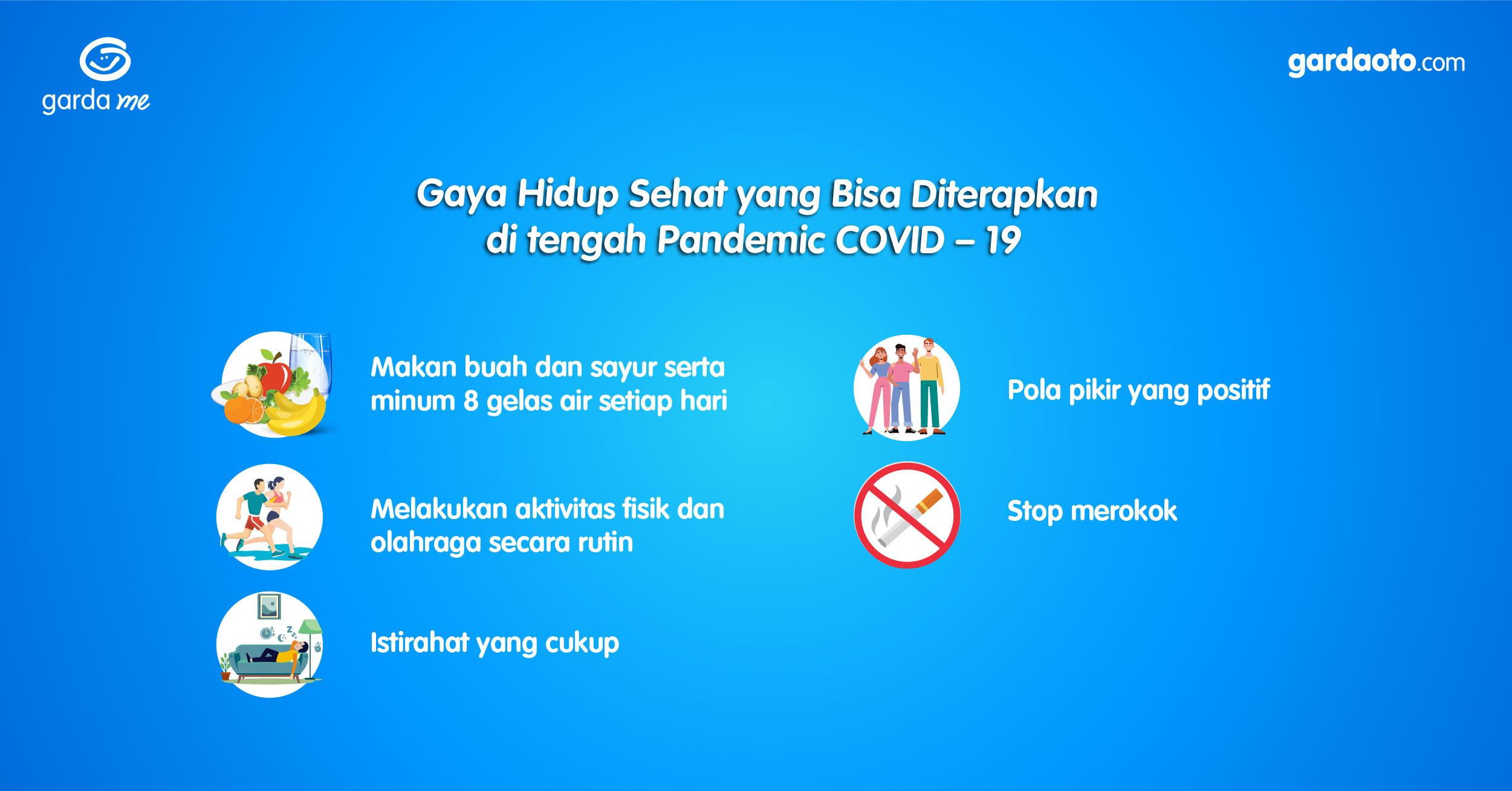 Gaya Hidup Sehat Yang Bisa Diterapkan Di Tengah Pandemic Covid 19 Asuransi Lengkap Premi Murah Dan Terjangkau