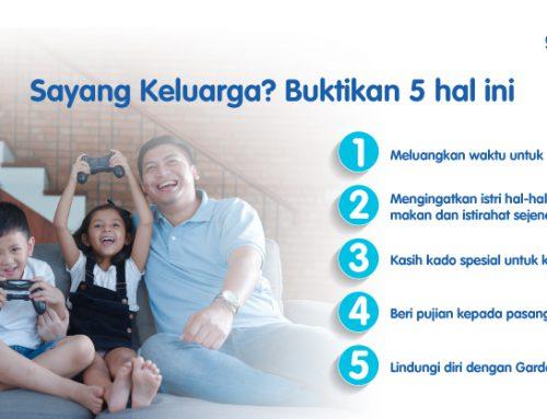 Sayang Keluarga? Buktikan Lima Hal Ini
