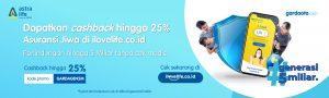 Cashback up to 25% #Generasi5Miliar Astra Life