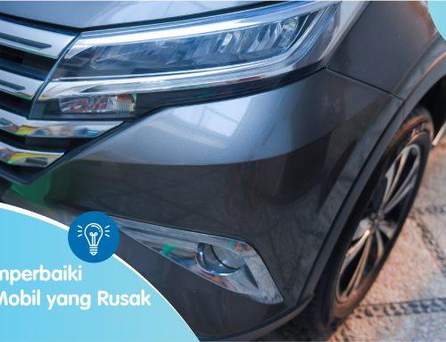 Cara Memperbaiki Bumper Mobil yang Rusak