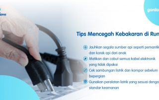 4 Tips Mencegah Kebakaran di Rumah