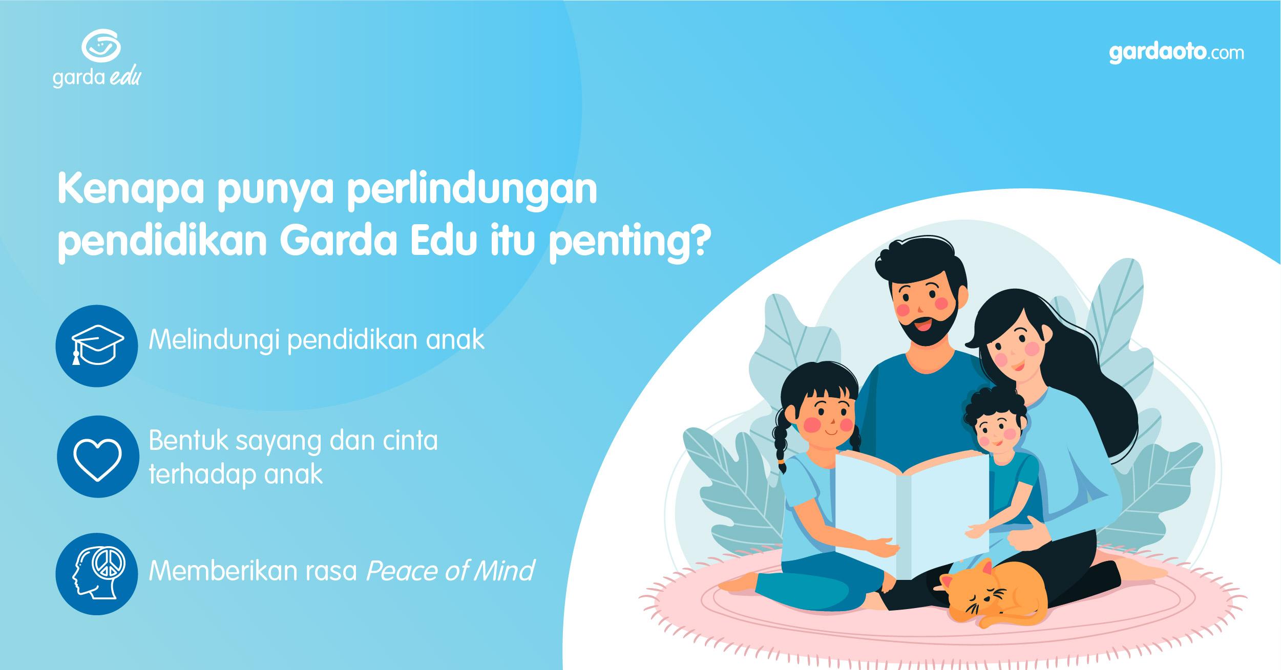 Pentingnya asuransi pendidikan anak Garda Edu untuk masa depan
