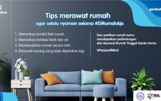 Tips Merawat Rumah agar Selalu Nyaman Selama #DiRumahAja
