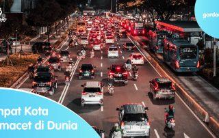Empat Kota Termacet di Dunia
