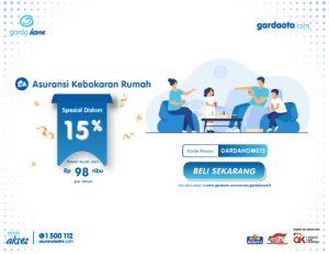 Promo Garda Home Diskon 15%
