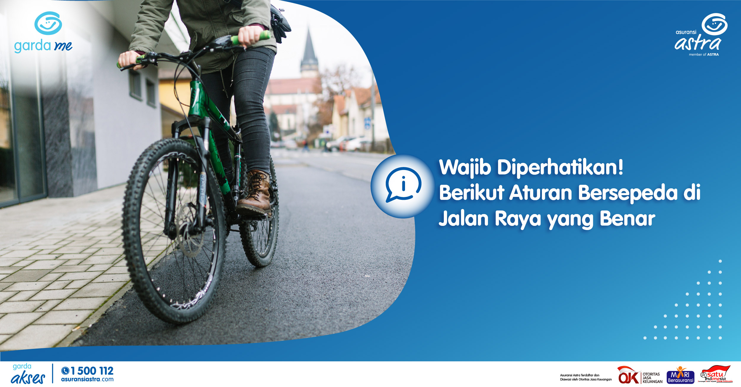 Wajib Diperhatikan! Berikut Aturan Bersepeda di Jalan Raya yang Benar