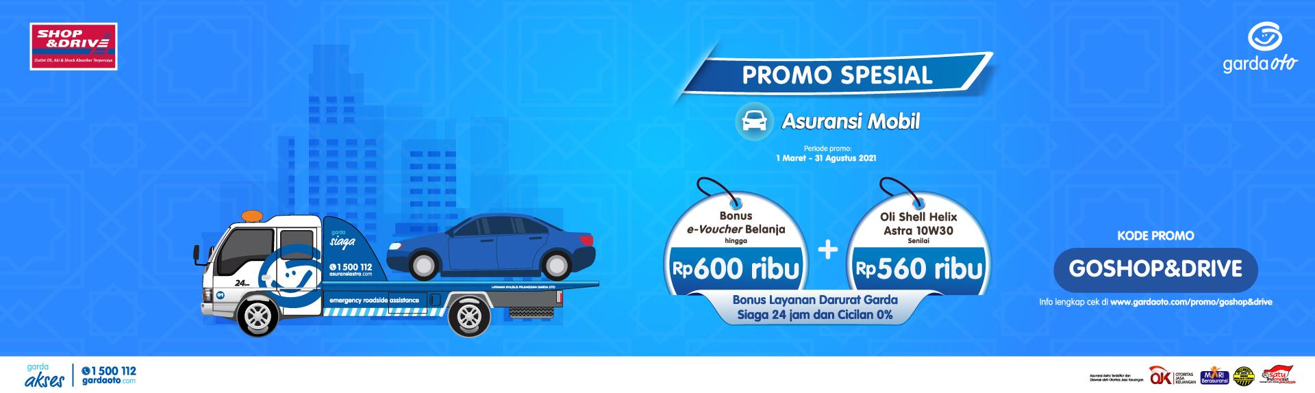 Promo Garda Oto Shop & Drive