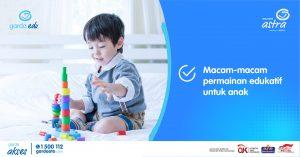 Macam-Macam Permainan Edukatif untuk Anak