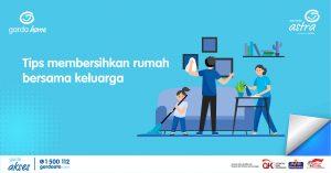 Tips Membersihkan Rumah Bersama Keluarga