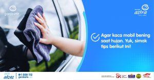Agar Kaca Mobil Bening Saat Hujan, Simak Tips Ampuh Ini!