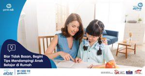 Biar Tidak Bosan, Begini Tips Mendampingi Anak Belajar di Rumah