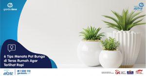 6 Tips Menata Pot Bunga di Teras Rumah Agar Terlihat Rapi