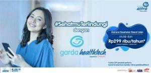 #SehatmuTerlindungi dengan Garda Healthtech Perlindungan Asuransi Kesehatan Rawat Jalan mulai dari Rp299 ribu/tahun* *Untuk 299 pembeli pertama Periode: 29 September – 5 Oktober 2021