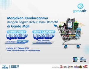 Promo Garda Mall Oktober 2021 - gardaoto.com